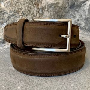 COLE HAAN Suede Mens Belt - 38""